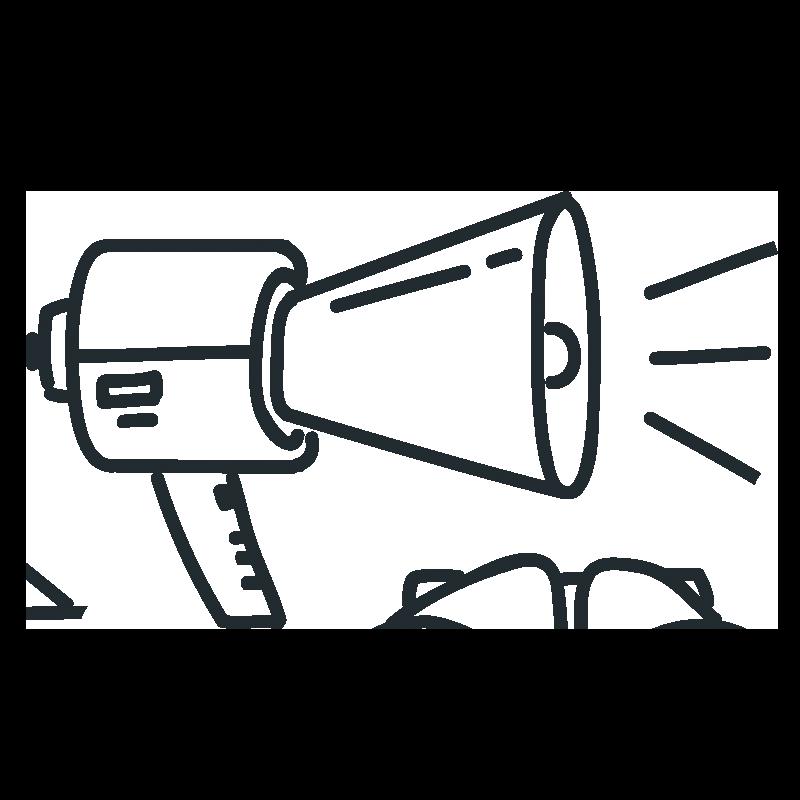 megaphone build brand awareness